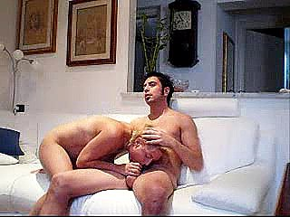 Thick boobs cumshot after hot fuck